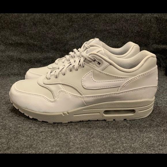 dd00016911c3b Shoes | Nike Womens Air Max 1 Lx Pure Platinum Reflective | Poshmark